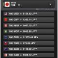 iMoney for iPad · 外貨為替換算