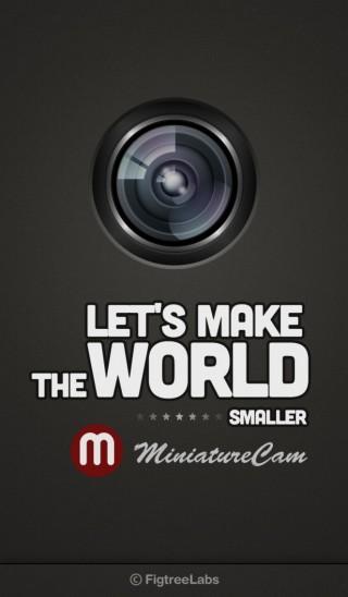 MiniatureCam_TiltShift Generator
