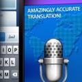 Voice Translator:話すだけでその内容を60以上もの言語で翻訳してくれるというアプリ。訳文を文字で出すだけではなく、音声で出してもくれます。
